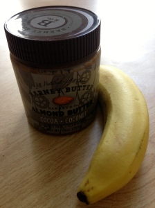 banana and barney butter (cocoa and coconut)