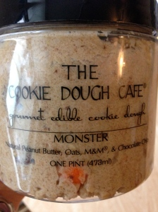 this is amazing- edible cookie dough