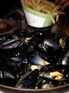 moules frites from Luke