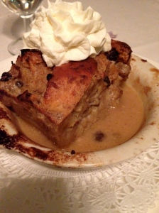 Banana Bread Pudding at The Prime Rib (Wednesday Lunch dessert)