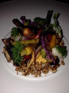 a raw veggie salad