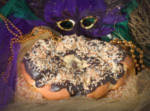 Zulu King cake- the best I have ever had but oh the tummy ache