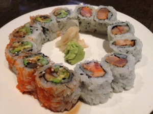 dynamite and eel roll