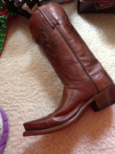 best present- Lucchese boots!
