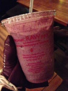 One Lucky Duck smoothie in NYC soooo good
