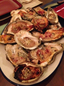 grilled oysters!